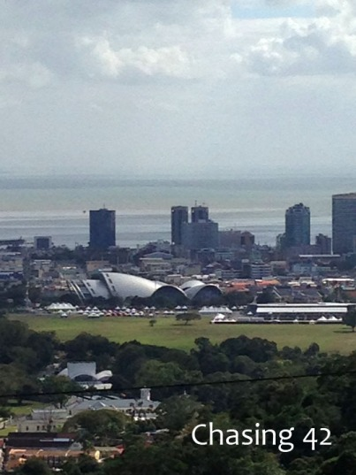 Port of Spain the the Gulf of Paria